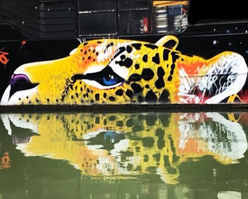 Le street art – Canal de l'Ourcq