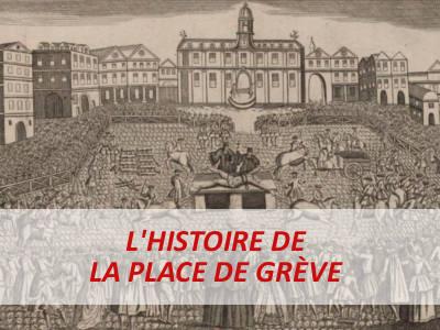 PLACE DE GREVE paris