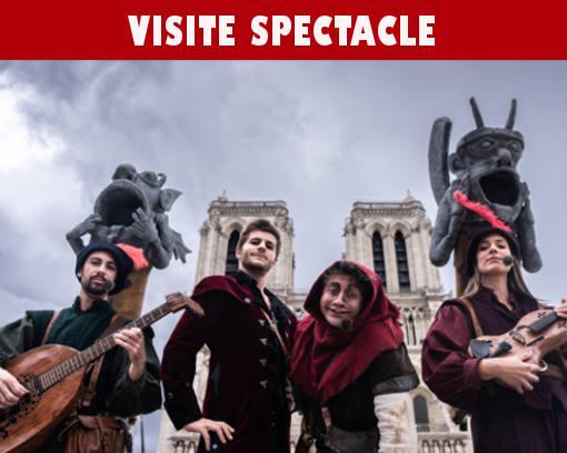 Les mystères du Moyen-Âge visite spectacle à Paris