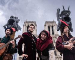 troubadours visite spectacle Les Mystères du Vieux Paris