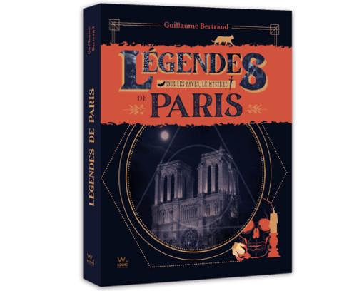 Livre les légendes de Paris