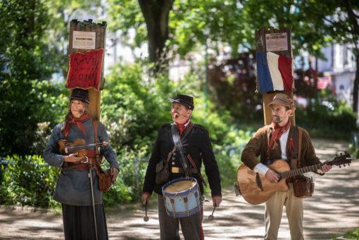 visite spectacle La Commune de Paris