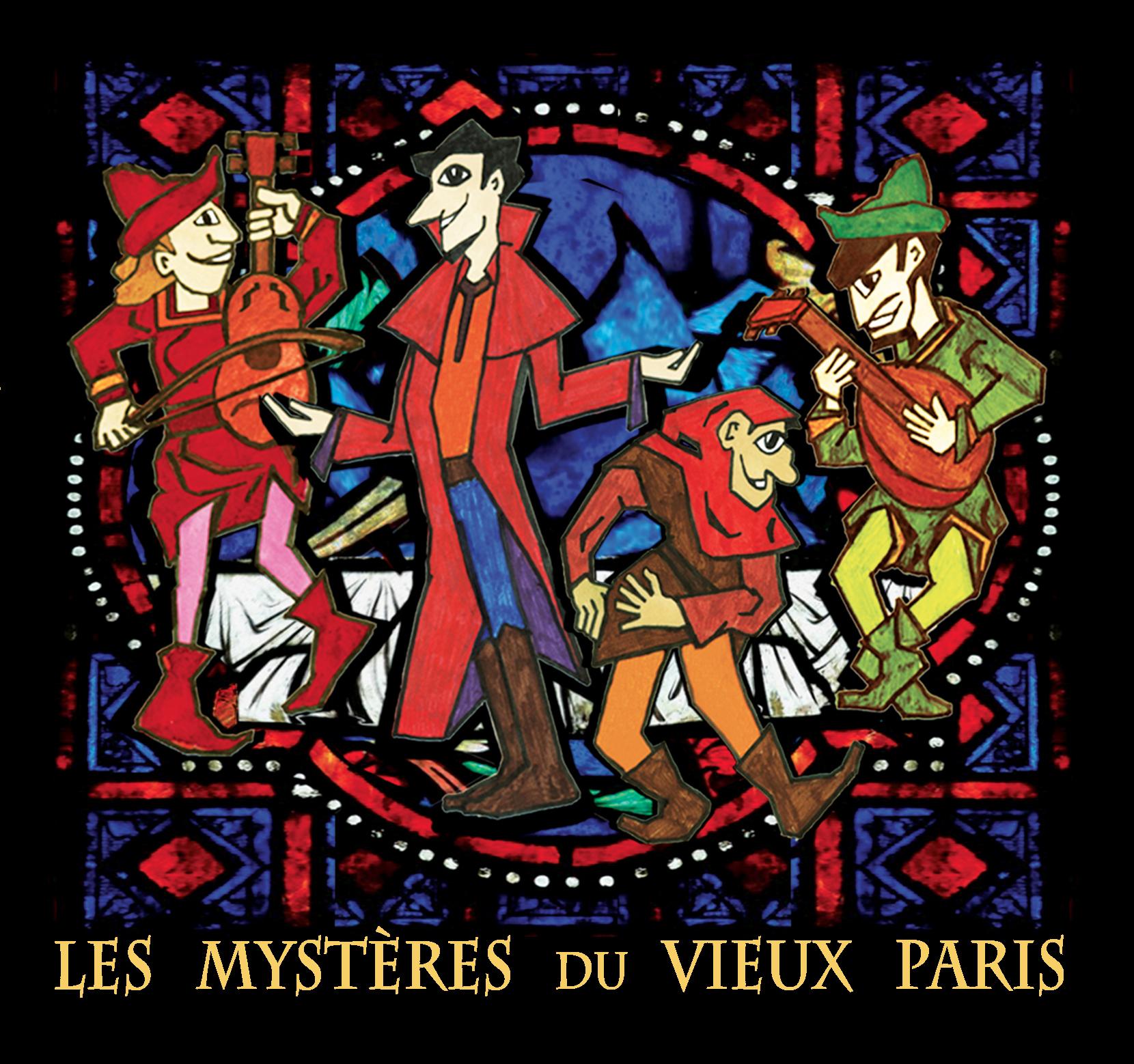 CD Les Mystères du Vieux Paris